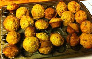 Karl's Cranberry Banana Bran Mini-Muffins