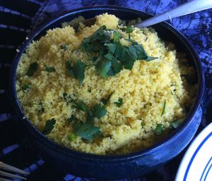 Karl's Lemon Saffron Couscous