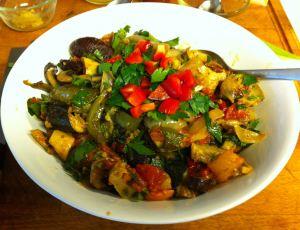 Karl's Tunisian Mechouia (Grilled Vegetable Salad)