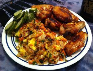Karl's Teriyaki Chicken Wings