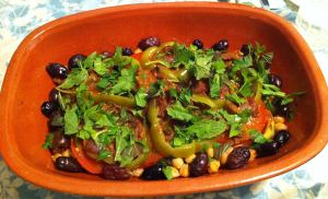 Karl's Adkin's Vegetable Tajine (Tagine)