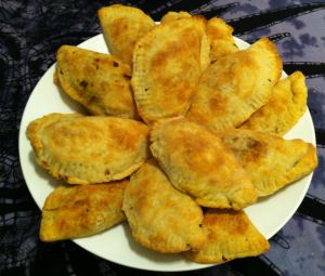 Karl's Broccoli and Cheese Empanada