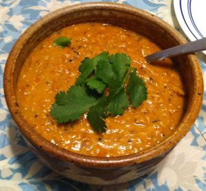 Karl's Carrot and Red Lentil Dhal