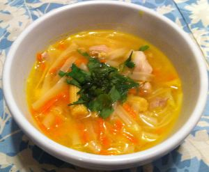Karl's Lemon Grass Chicken Soup II