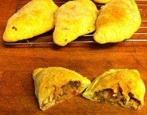 Karl's Pork Sausage Empanadas