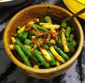 Karl's Green and Wax Bean Medley