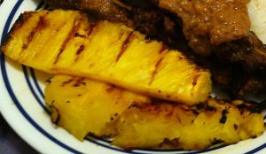 Karl's Grilled Pineapple