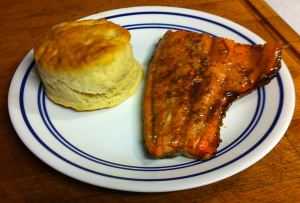 Karl's Honey Balsamic Glazed Salmon