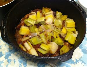 Karl's Lamb Stew with Leeks