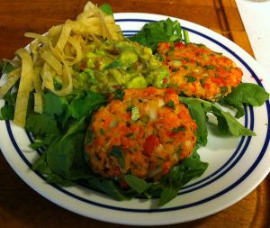 Karl's South of the Border Salmon Patties