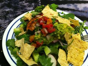 Karl's Fish Taco Salad