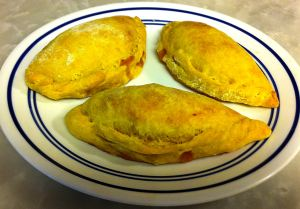 Karl's Curried Peach Pasties
