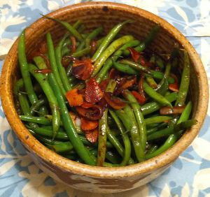 Karl's Green Beans with Dark Soy Sauce