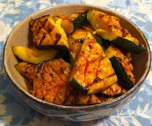 Karl's Annatto Barbecued Zucchini
