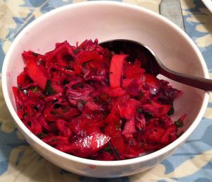Karl's Cal Col Roja en Escabeche II (Pickled Red Cabbage)