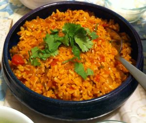 Karl's Mexican Brown Rice