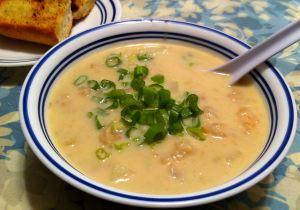 Karl's Shrimp and Clam Chowder