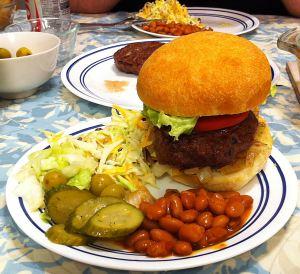 Karl's Barbecued Hamburgers