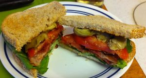 Karl's BLT with Artichoke Hearts