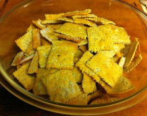 Karl's Pepper Thyme Crackers