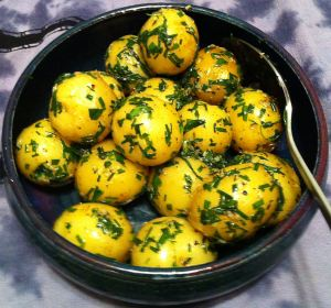 Karl's Tarragon and Chive Potatoes