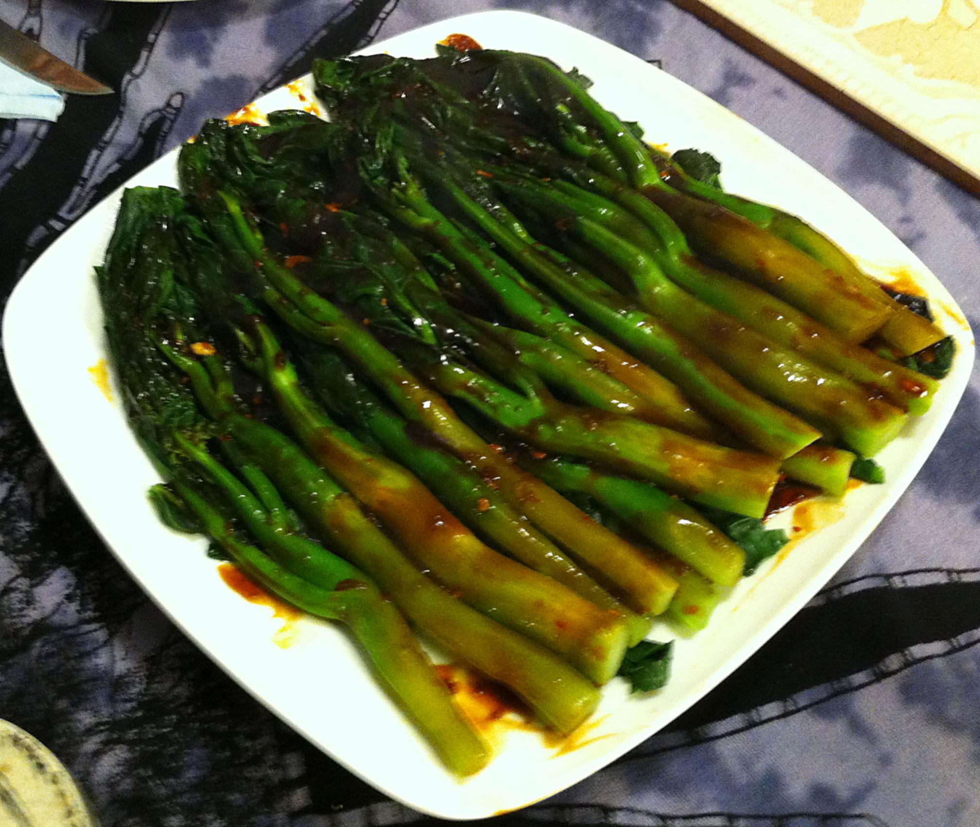 Karl S Chinese Broccoli With Mushroom Sauce Jabberwocky Stew