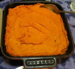 Karl's Sweet Potato Mash