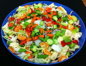 Karl's Asian Salad for a Crowd