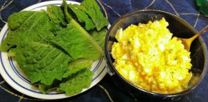 Karl's Egg Salad Lettuce Wraps