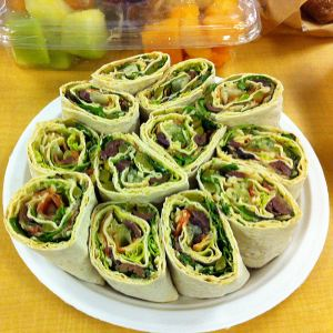 Karl's California Fusion Hummus Wraps