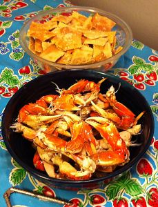 Karl's Cracked Crab and Crackers
