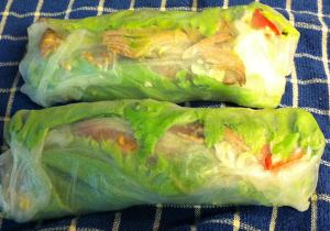 Karl's Leftovers: Venezuelan Pernil Summer Rolls (Pulled Pork)