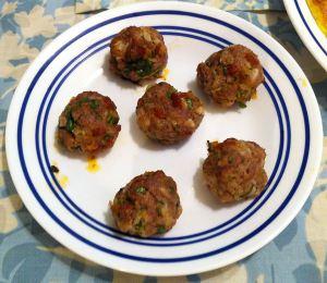 Karl's Tapas Albóndigas de Cordero (Lamb Meatballs)