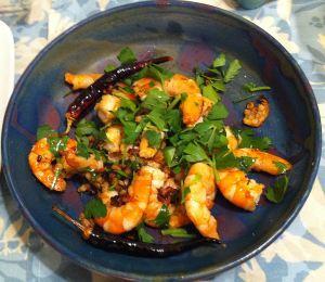 Karl's Tapas Gambas al Ajillo (Shrimp Scampi)