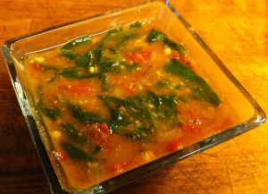 Karl's African Spinach Soup