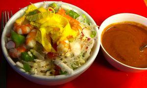 Karl's Cellophane Noodle Salad with Shrimp
