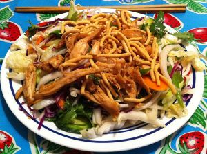 Karl's Chinese Poached Chicken Salad