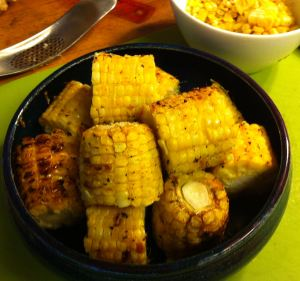 Karl's Garlic Lemon Barbecued Corn