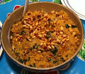 Karl's Couscous Florentine