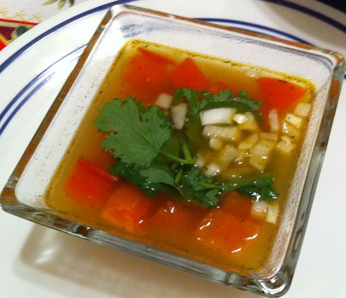 Karl's Sopa de Camarón
