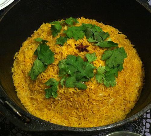 Karl's Masoor dal Pulao - Red Lentil Rice