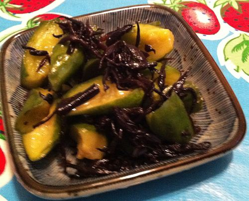 Karl's Japanese Orange Cucumber Pickles
