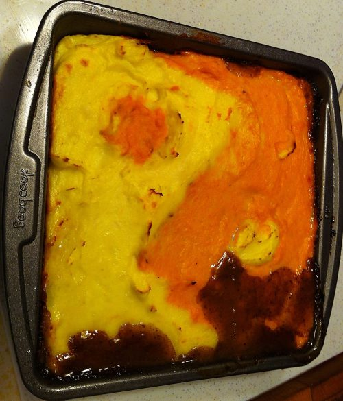 Karl's Ying and Yang Cottage Pie