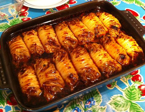 Karl's Asian Cabbage Rolls