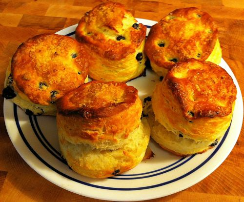 Karl's Blueberry Scones