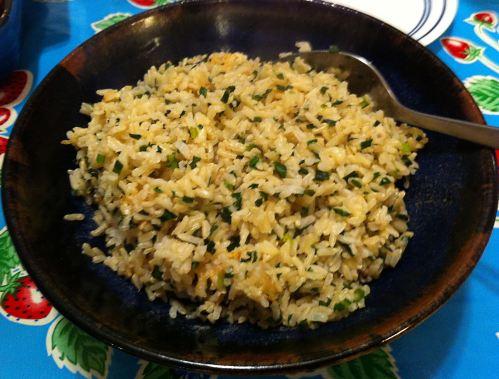 Karl's Confetti Rice
