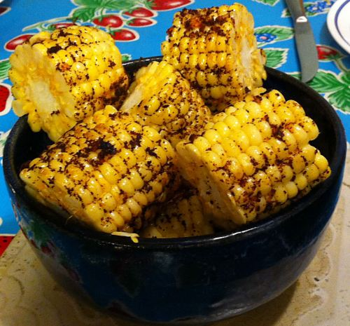 Karl's Grilled Chili Corn