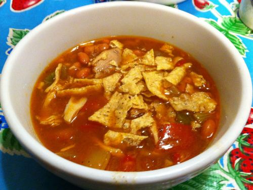 Karl's Chicken Bone Broth Chili Bean Soup