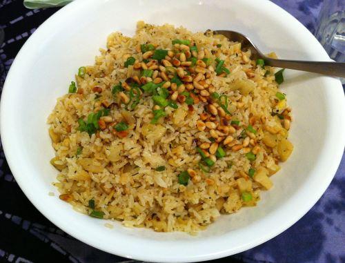 Karl's Greek Artichoke Rice