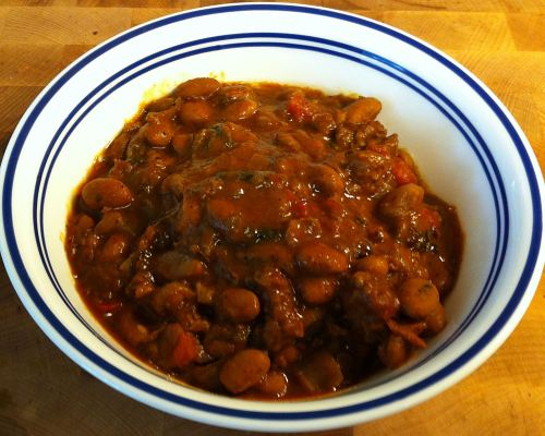 Karl's Weekday Quick Beef Chili II